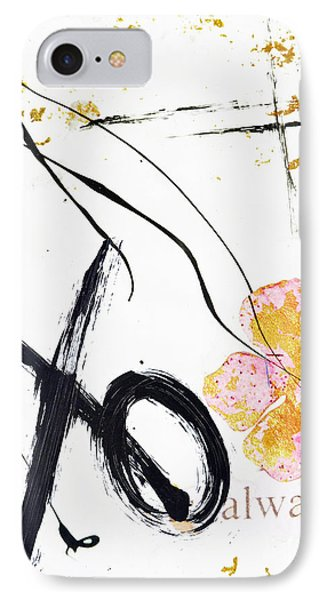Love Perseveres Xo Collage IPhone Case by Anahi DeCanio