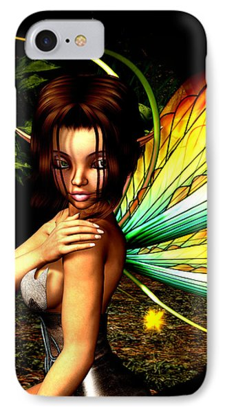 Love Pixie 1 IPhone Case by Alexander Butler