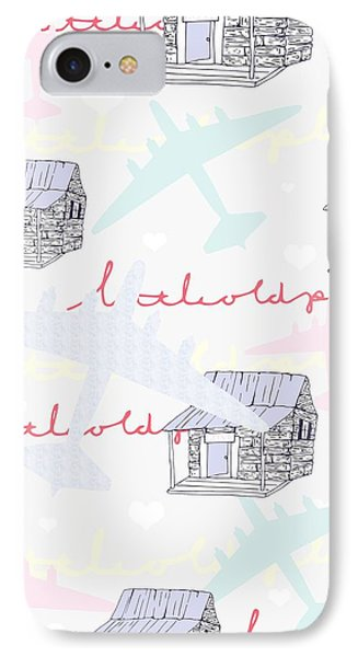 Love Shack IPhone 7 Case by Beth Travers