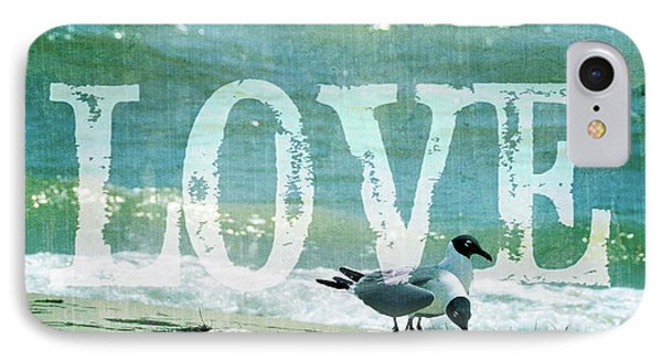 IPhone Case featuring the photograph Love The Beach by Jan Amiss Photography