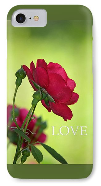 Love Will Find A Way IPhone Case by Maria Urso
