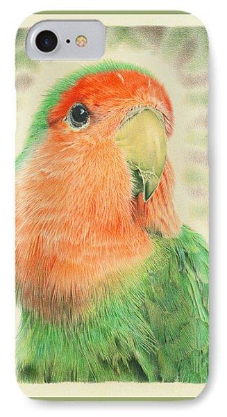 Lovebird Pilaf IPhone Case by Remrov