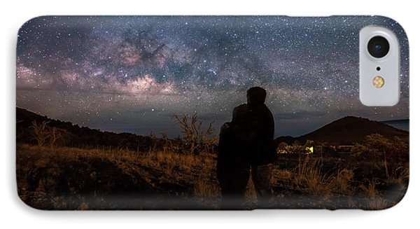 Loveing The  Universe IPhone Case by Eti Reid