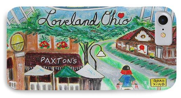 Loveland Ohio IPhone Case by Diane Pape