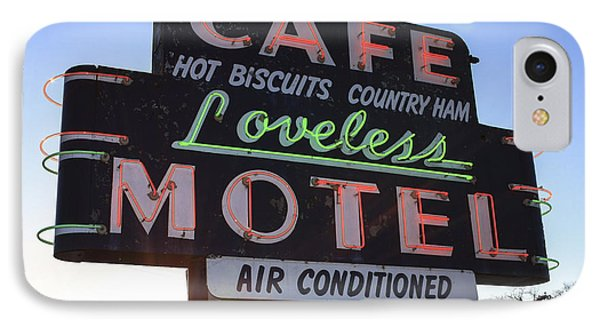 Loveless Cafe And Motel Nashville IPhone Case by David M Porter