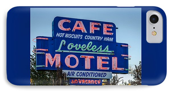 Loveless Cafe And Motel Sign IPhone Case