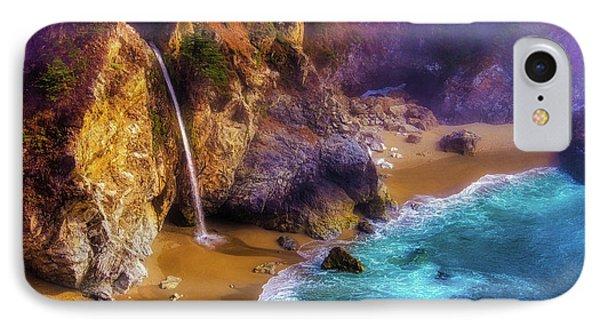 Lovely Big Sur Falls IPhone Case