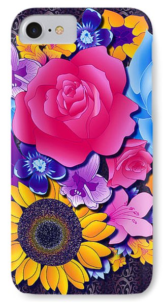 Lovely Bouquet IPhone Case by Samantha Thome
