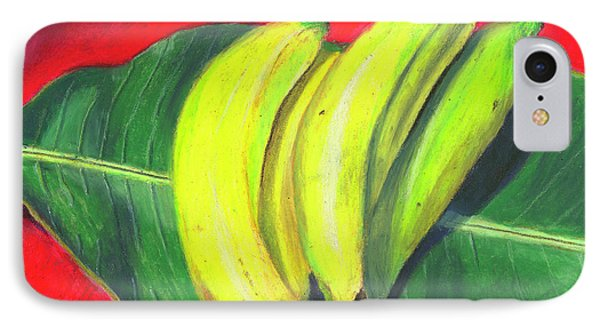 Lovely Bunch Of Bananas IPhone Case by Arlene Crafton