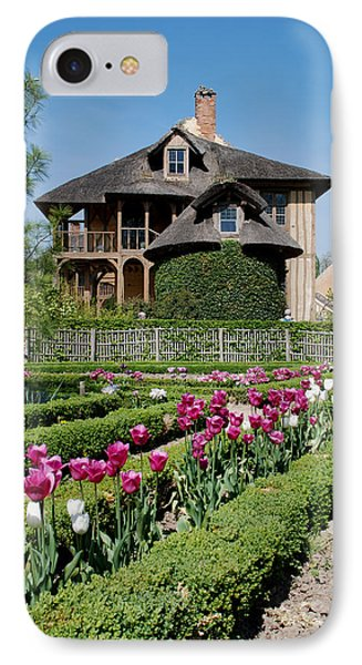 Lovely Garden And Cottage IPhone Case by Jennifer Ancker