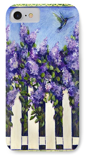 Lovely Lilacs IPhone Case by Gail McClure