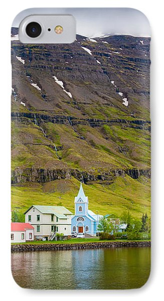 Lovely Little Town In Iceland IPhone Case