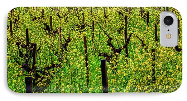 Lovely Mustard Grass IPhone Case by Garry Gay