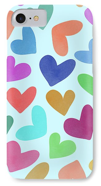 Lovely Pattern Iv IPhone Case