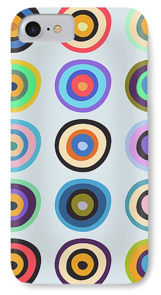 Lovely Pattern V IPhone Case by Amir Faysal