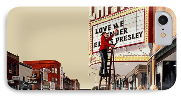 Love Me Tender IPhone Case by Michael Swanson