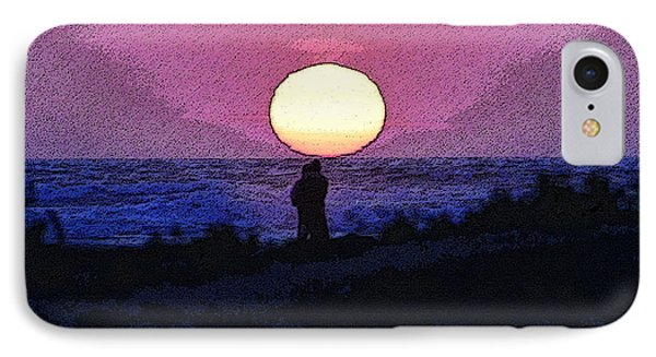 Lovers Sunset IPhone Case by David Lee Thompson