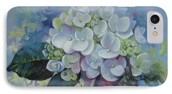 Loving Hydrangea IPhone Case by Elena Oleniuc