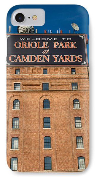 Low Angle View Of A Baseball Park IPhone Case by Panoramic Images