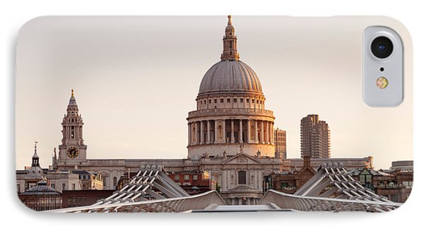 Low Angle View Of St. Pauls Cathedral IPhone Case by Panoramic Images