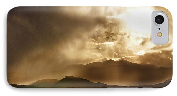 Low Clouds On The Colorado Rocky Mountain Foothills Phone Case by James BO  Insogna