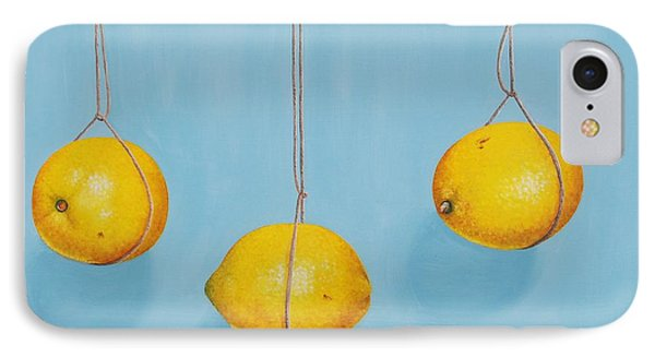 Low Hanging Lemons Phone Case by Emily Page