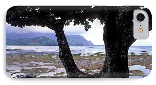 Low Tide And The Tree Phone Case by Kathy Yates