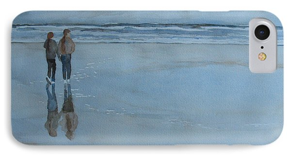 Low Tide At Agate Beach IPhone Case by Jenny Armitage