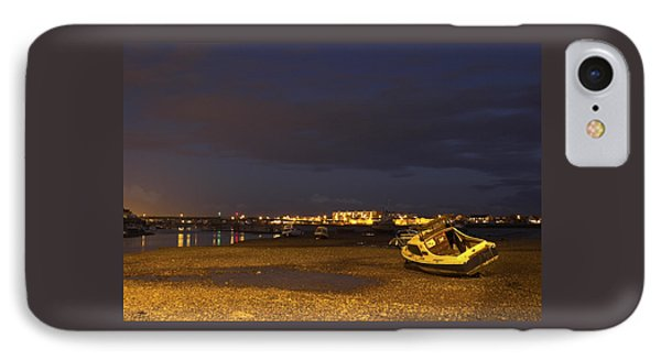 Low Tide At Dusk IPhone Case by Hazy Apple
