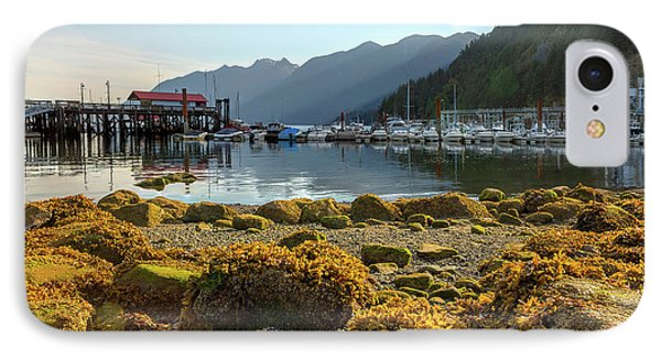 Low Tide At Horseshoe Bay Canada Phone Case by David Gn