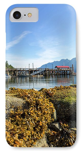 Low Tide At Horseshoe Bay Canada On A Sunny Day Phone Case by David Gn