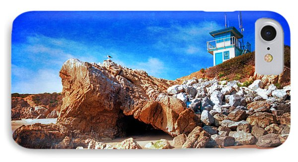 Low Tide At Leo Carillo IPhone Case by Lynn Bauer