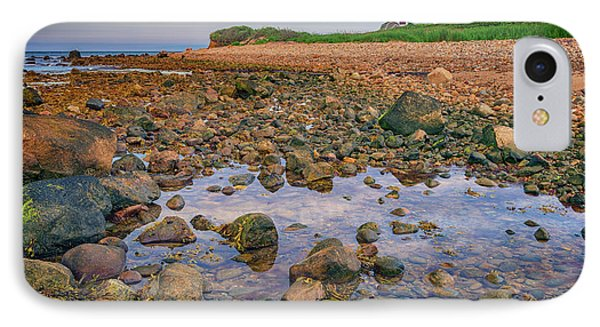 Low Tide At Montauk Point Phone Case by Rick Berk