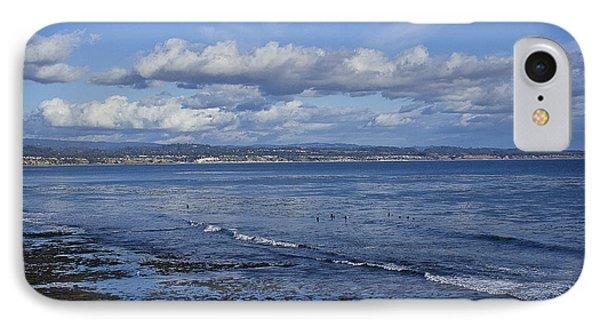 Low Tide At The Hook, Santa Cruz Ca IPhone Case