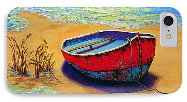 Low Tide - Impressionistic Art, Landscpae Painting IPhone Case