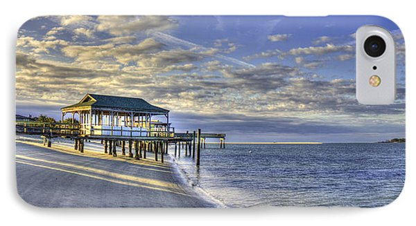 Low Tide Sunrise Tybee Island IPhone Case by Reid Callaway