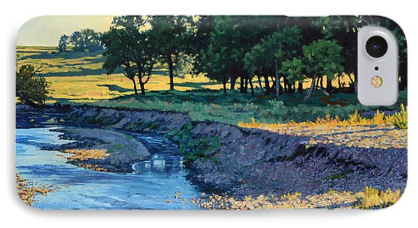 Low Water Morning IPhone Case by Bruce Morrison