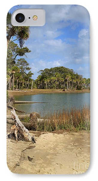 Lowcountry Lagoon Phone Case by Louise Heusinkveld