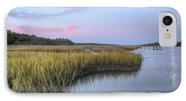 Lowcountry Marsh Grass On The Bohicket IPhone Case by Dustin K Ryan
