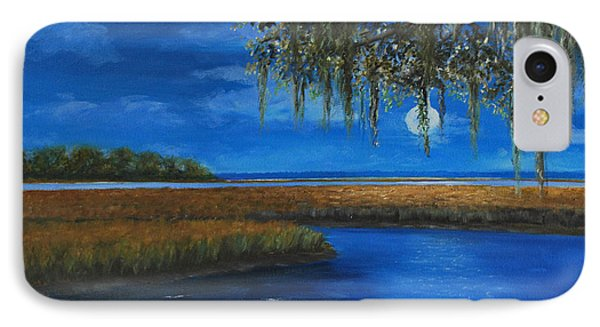 Lowcountry Moon IPhone Case by Stanton Allaben