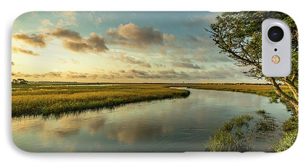 Pitt Street Bridge Creek Sunrise IPhone Case