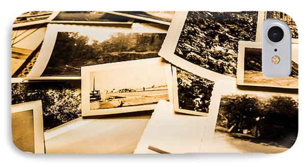 Lowdown On A Vintage Photo Collections IPhone Case