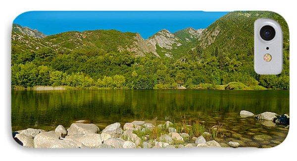 Lower Bells Canyon Reservoir IPhone Case by Dan Miller