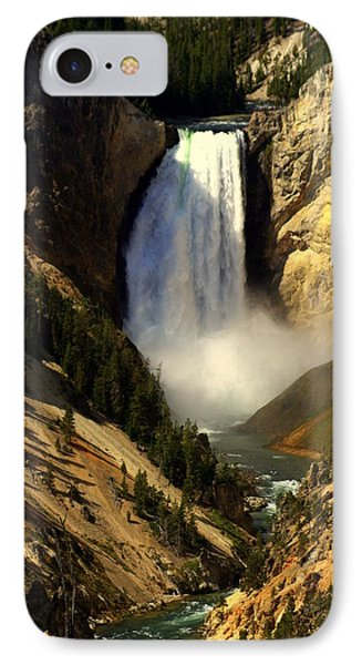 Lower Falls 2 IPhone Case by Marty Koch