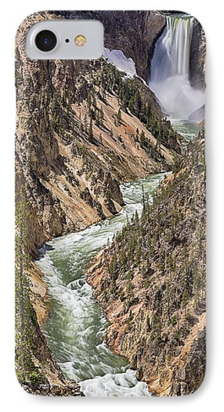 Lower Falls IPhone Case by John Gilbert