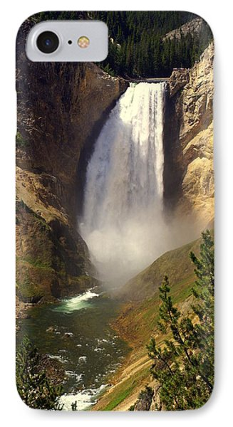 Lower Falls Phone Case by Marty Koch