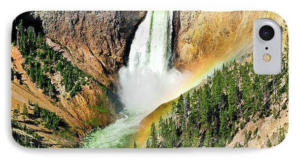 Lower Falls Rainbow IPhone Case by Greg Norrell