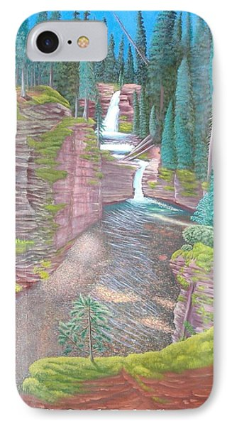 Lower Falls South Fork Mineral Creek IPhone Case by Philipp Merillat