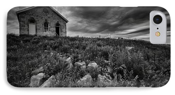 Lower Fox Creek Schoolhouse IPhone Case by Rick Berk