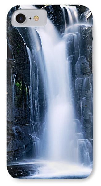 Lower Johnson Falls 3 Phone Case by Larry Ricker
